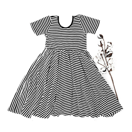 Organic Stripe Dress - Project Nursery