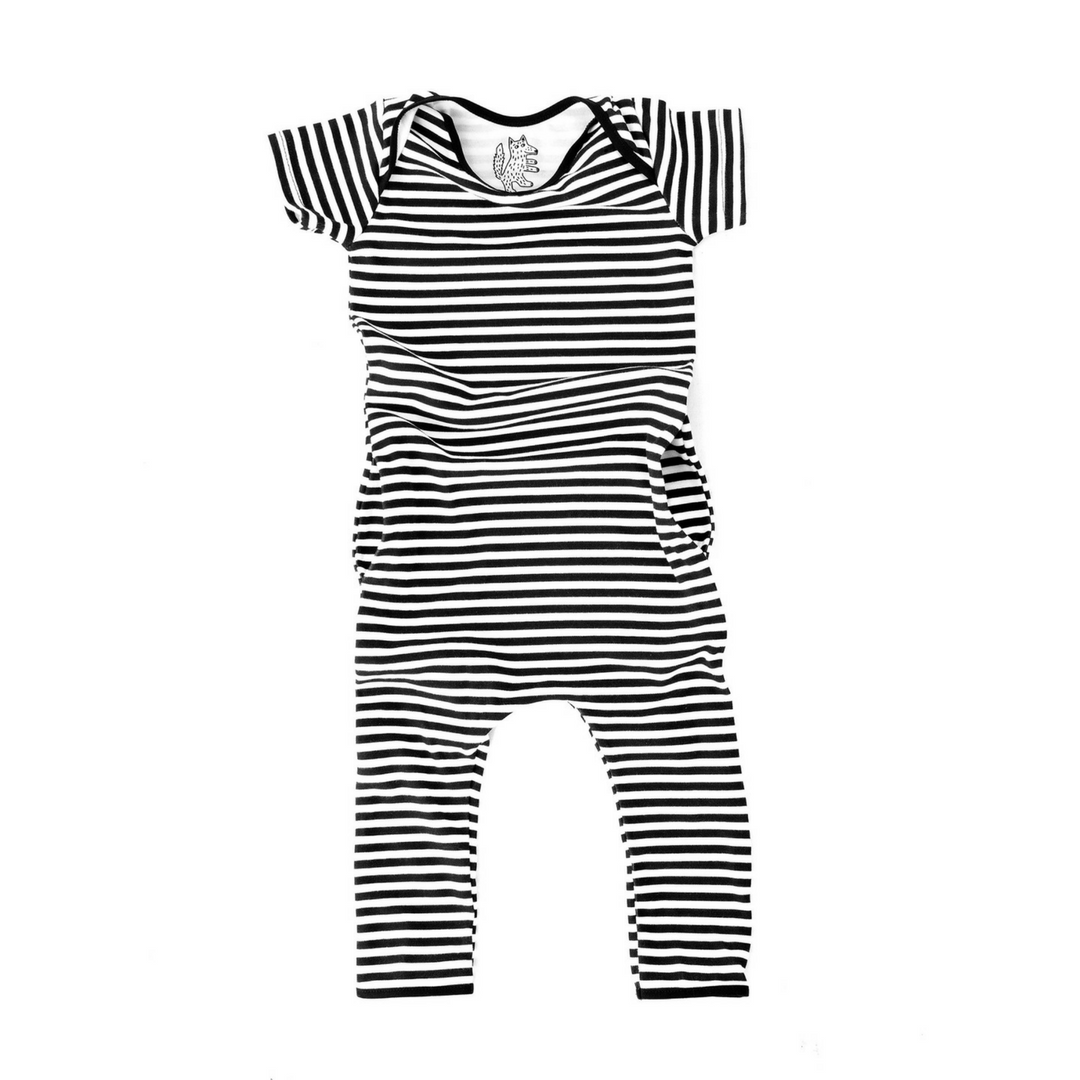 Organic Stripe Romper - Project Nursery