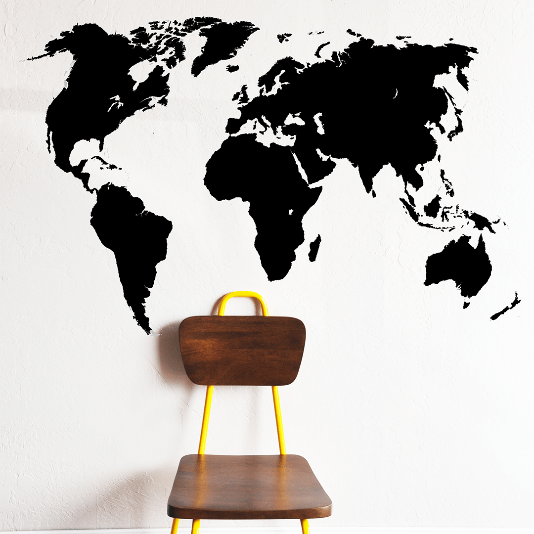 World Map Wall Decal - Project Nursery