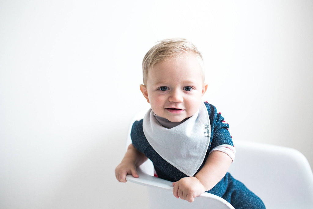 Bandana Bibs in Oxford Set  - The Project Nursery Shop - 7