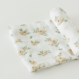 Yellow Rose Swaddle  - The Project Nursery Shop - 1
