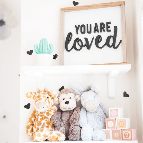 You Are Loved Wooden Sign - Project Nursery
