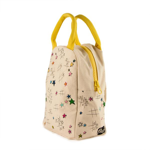 Tic Tac Toe Zipper Lunch Bag - Project Nursery