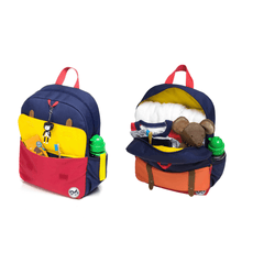 Junior Kid's Backpack - Navy Color Block - Project Nursery