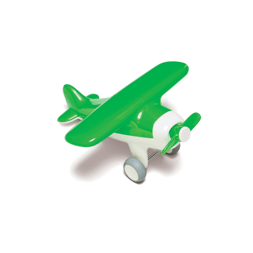 Green Airplane Toy - Project Nursery