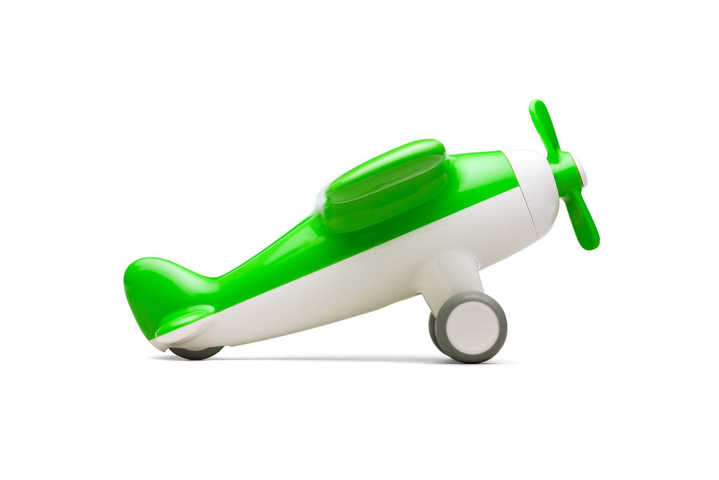 Green Airplane Toy  - The Project Nursery Shop - 2