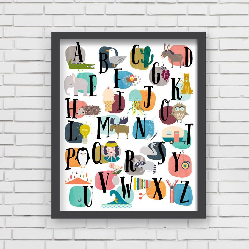 Discover Art Print  - The Project Nursery Shop - 2