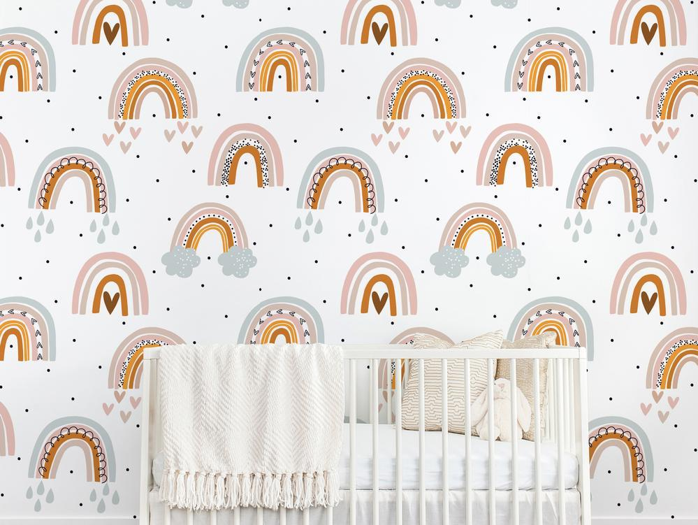 Ari Wallpaper - Project Nursery