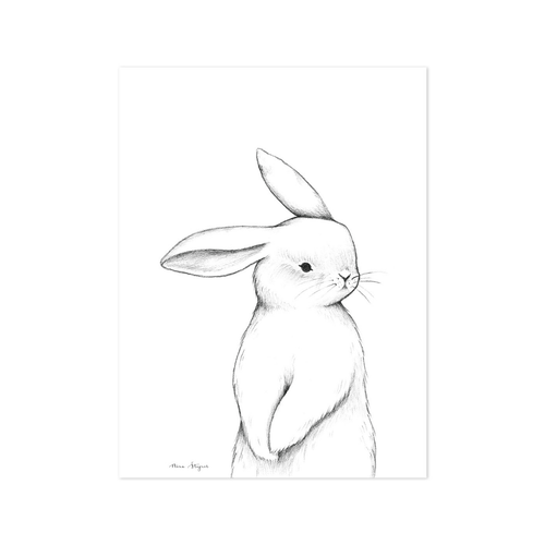 Baby Bunny Wall Print - Project Nursery