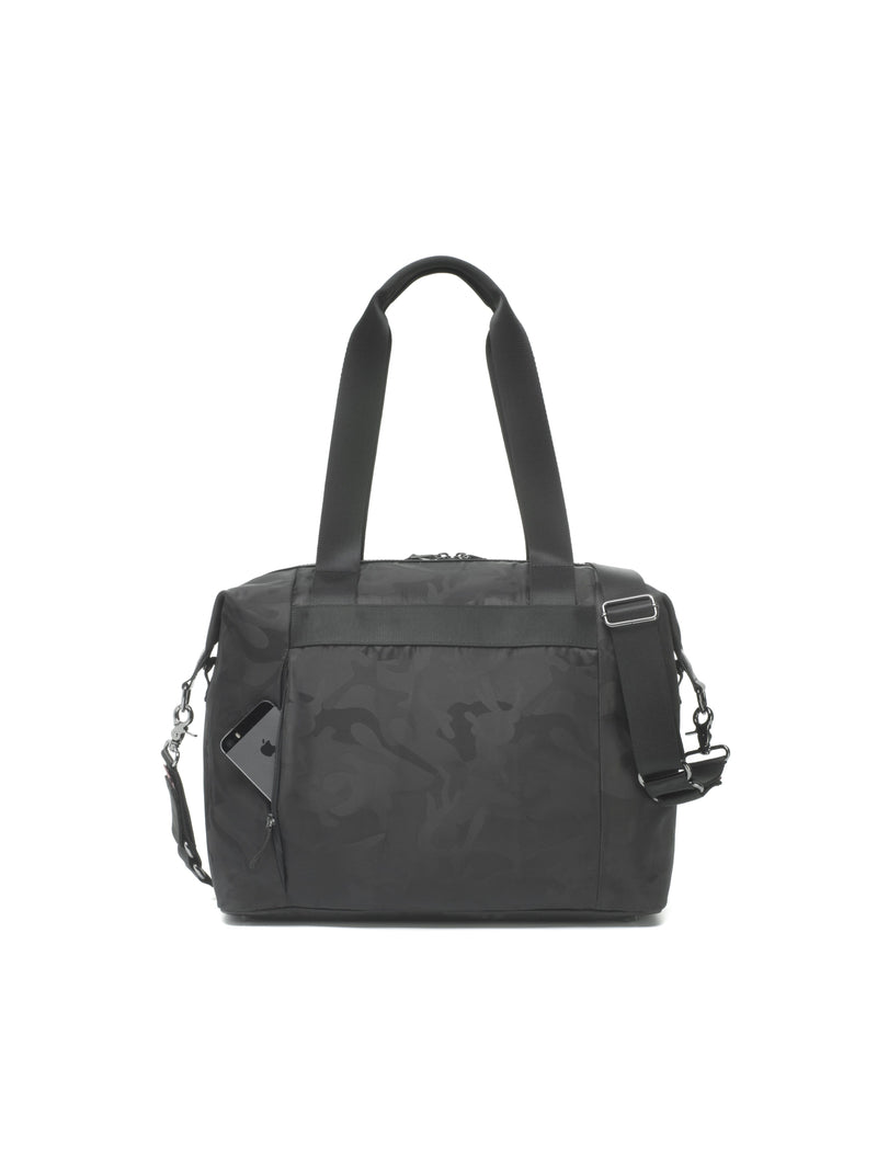 Stevie Luxe Diaper Bag - Black Camo - Project Nursery