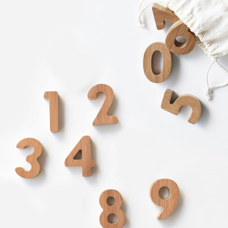 Bamboo Numbers - Project Nursery
