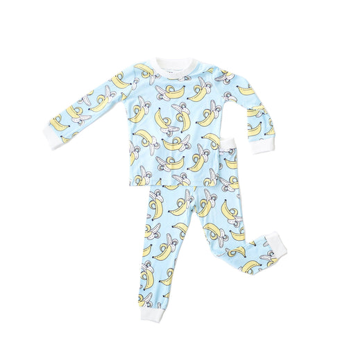 Banana Two-Piece Bamboo Toddler Pajama Set - Project Nursery
