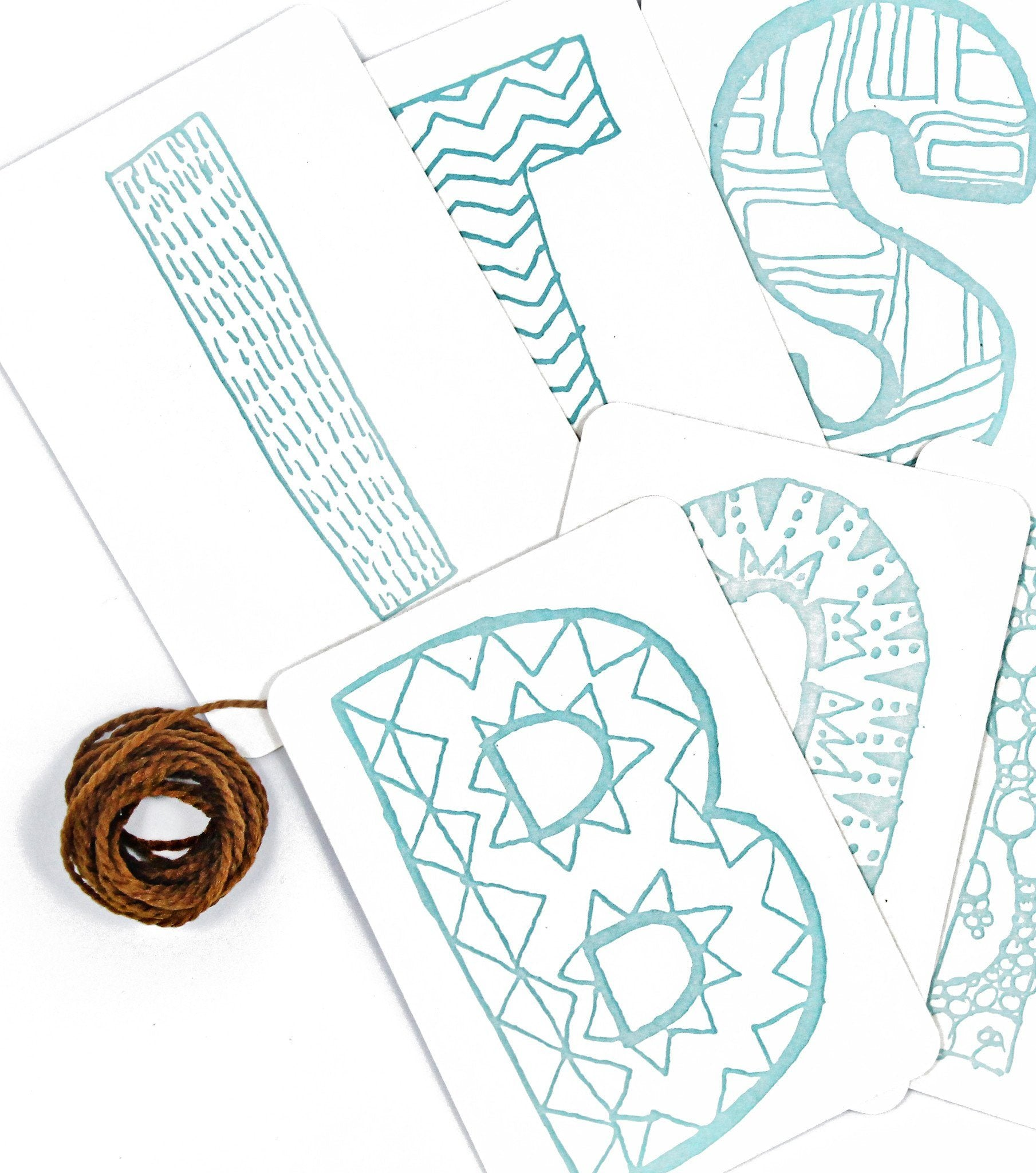 It's a Boy Letterpress DIY Banner Kit - Project Nursery