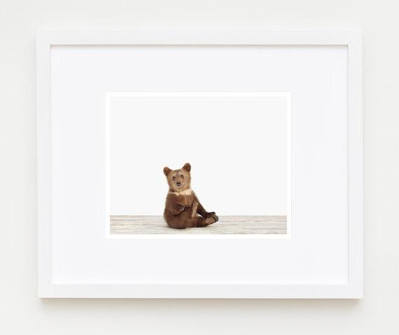 Bear Cub Print - Project Nursery