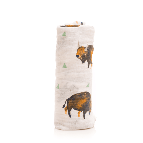 Bison Swaddle - Project Nursery