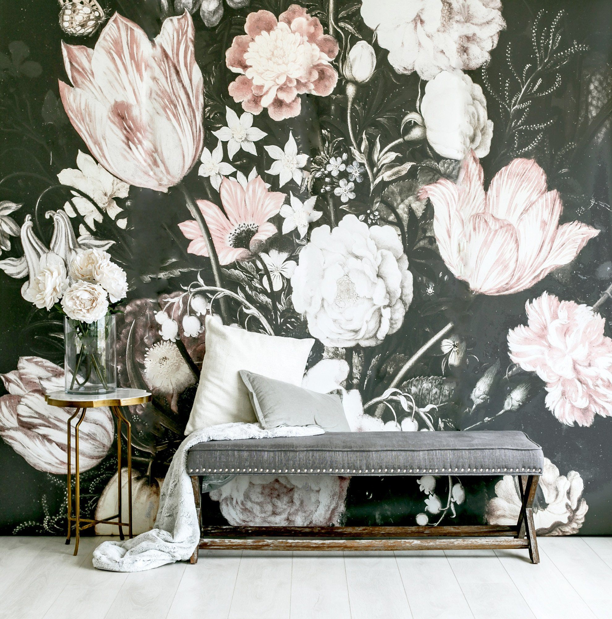 Blossoms Wallpaper Mural - Project Nursery