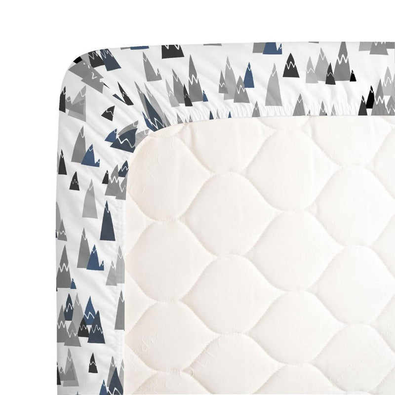 Blue Mountains Crib Sheet - Project Nursery