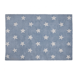 Stars Rug Light Blue - The Project Nursery Shop - 1
