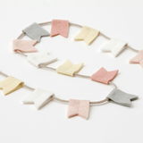 Modern Felt Bunting 30 in. / Blush - The Project Nursery Shop - 2