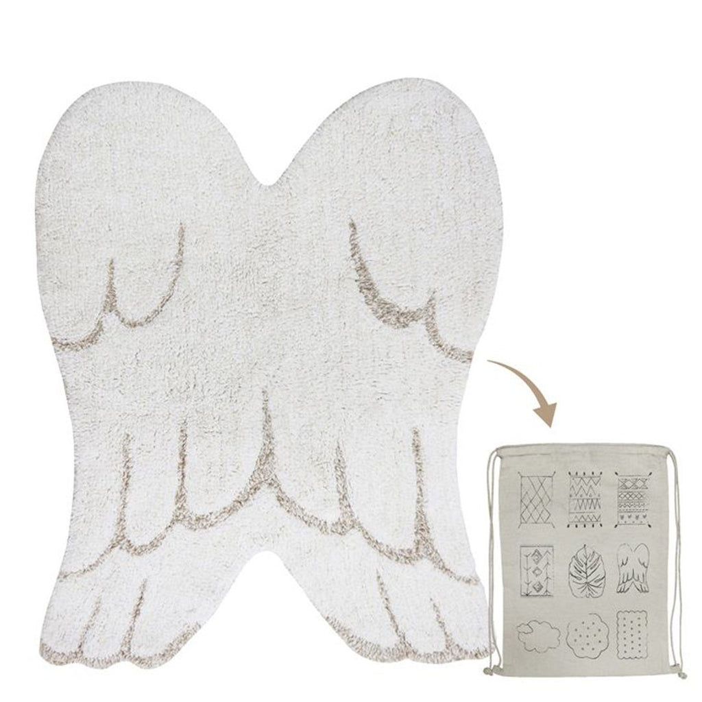 Mini Wings Washable Rug - Project Nursery