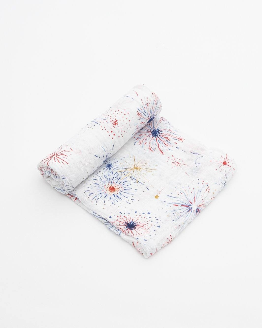 Fireworks Swaddle Blanket - Project Nursery