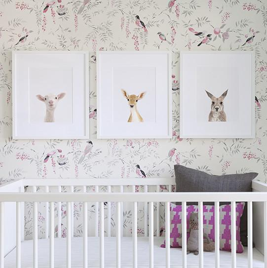Baby Deer Little Darling Print - Project Nursery