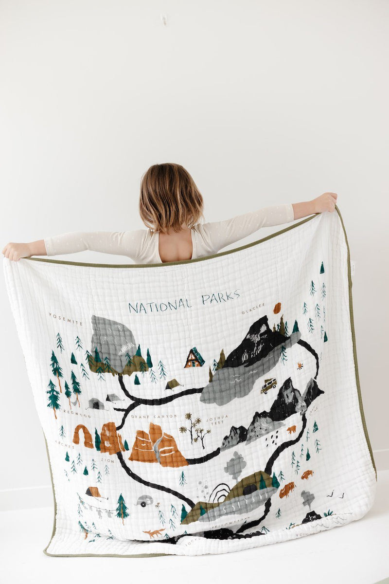 National Parks Quilt - Project Nursery