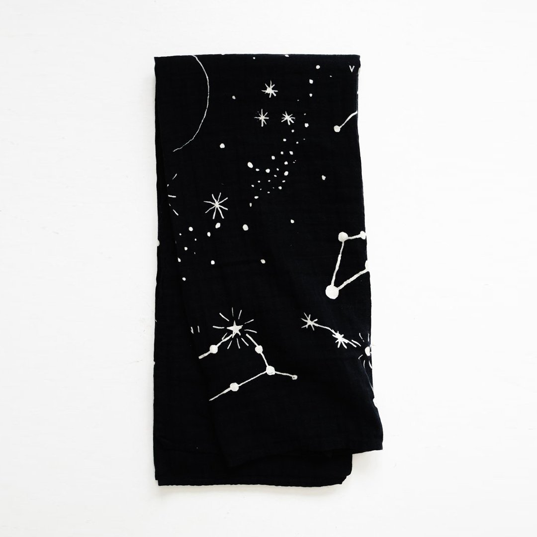 Astrology Swaddle Blanket - Project Nursery