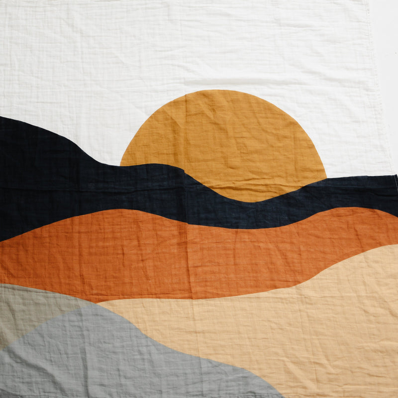 Sunset Swaddle Blanket - Project Nursery