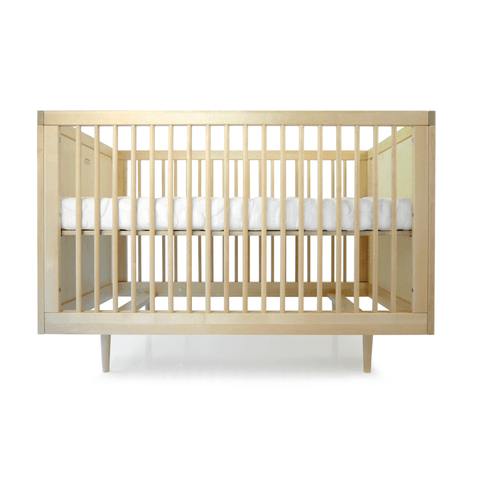 Project Nursery Wooster Toddler Conversion Rail in Almond + White