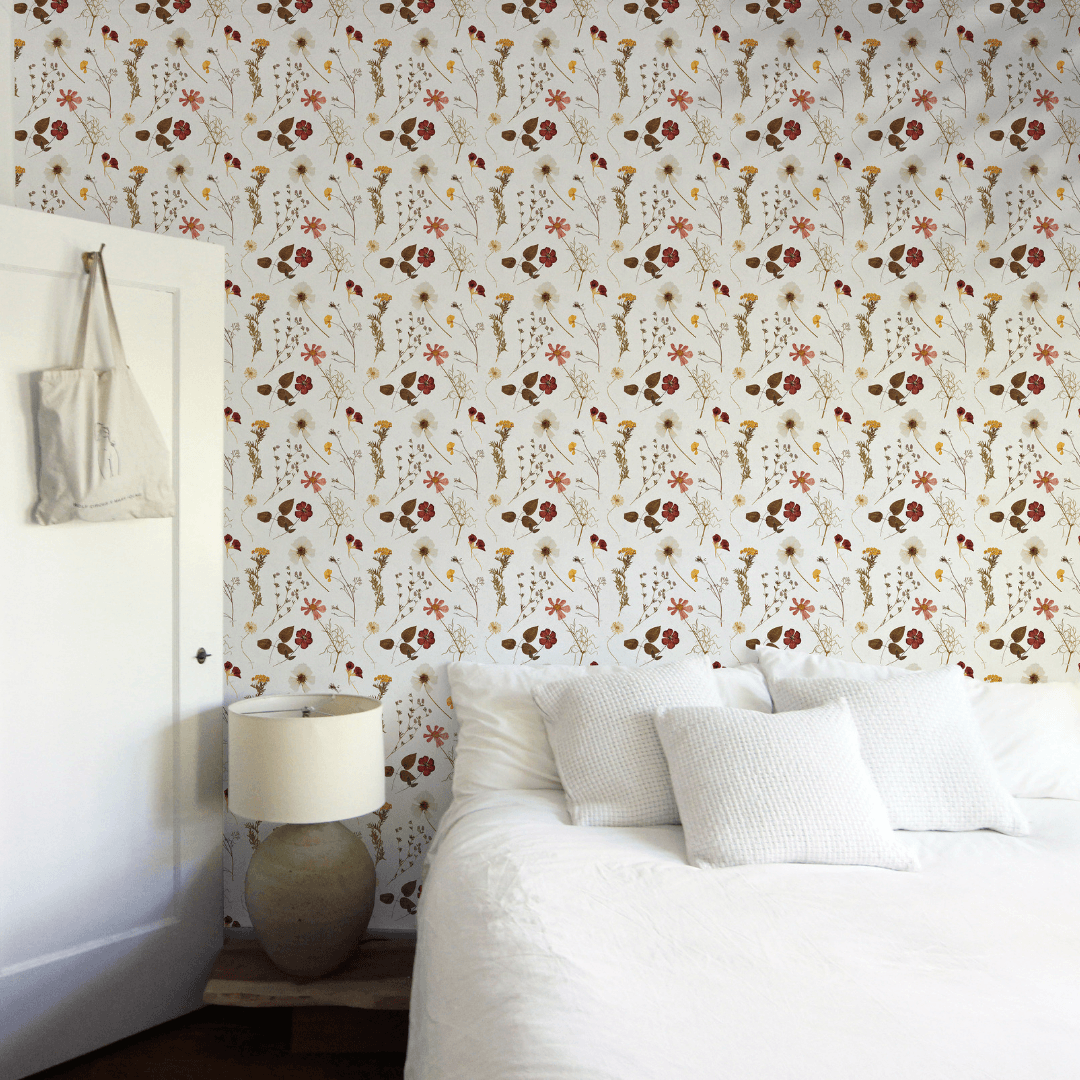 The Diary of Flowers Wallpaper - Project Nursery