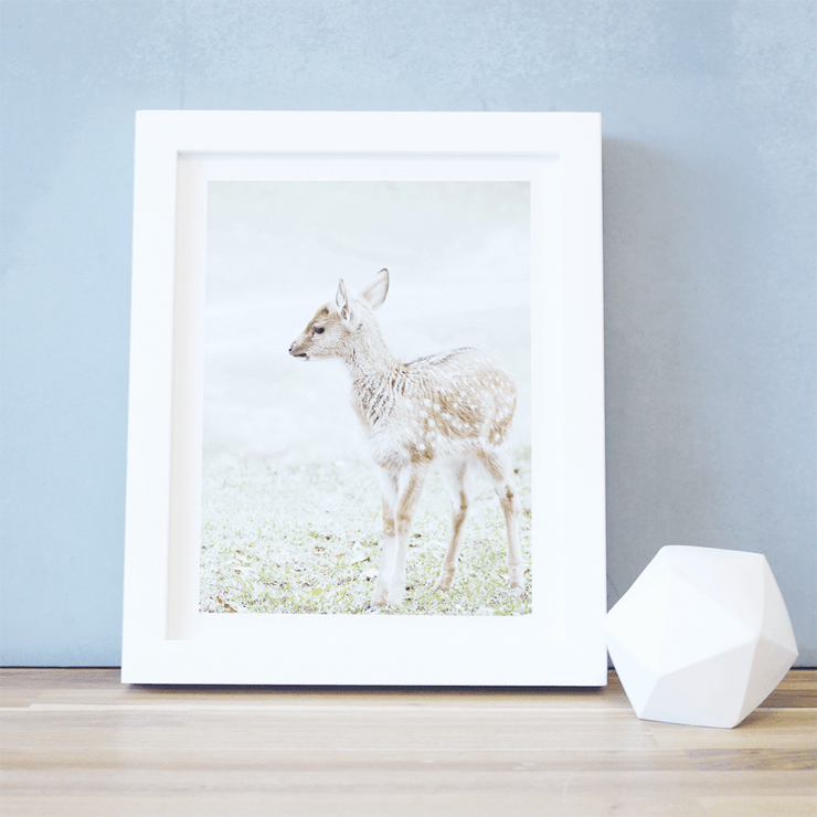 Baby Deer Print  - The Project Nursery Shop - 1