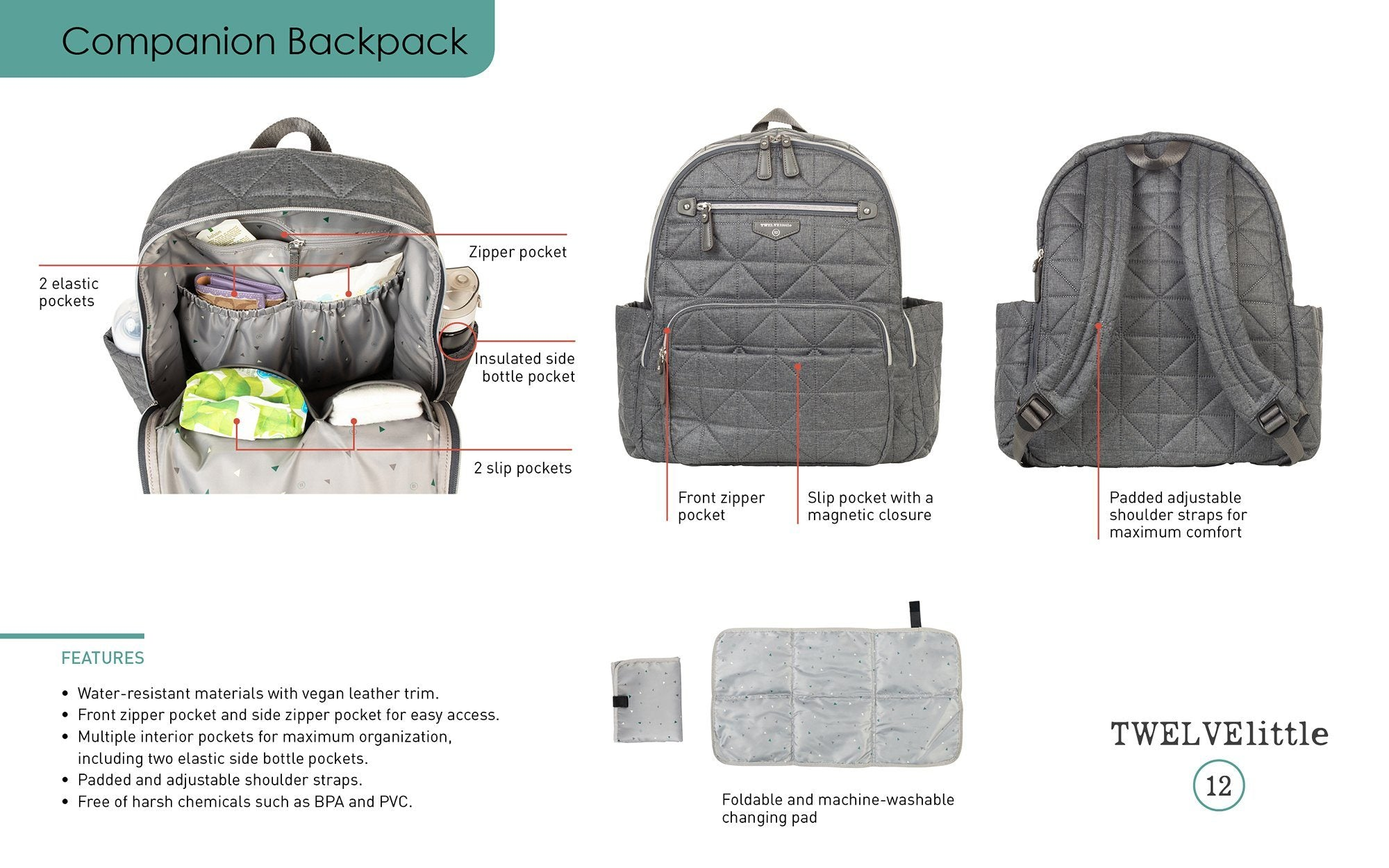 Companion Backpack - Project Nursery