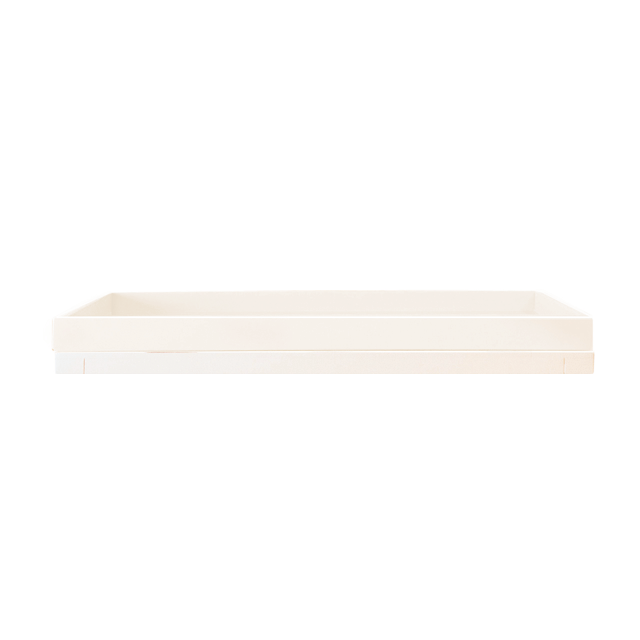 Devon Tray in White  - The Project Nursery Shop
