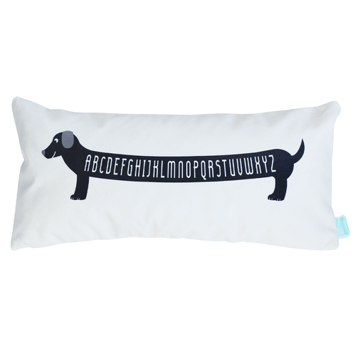 ABC Dachshund Pillow Cover - Project Nursery