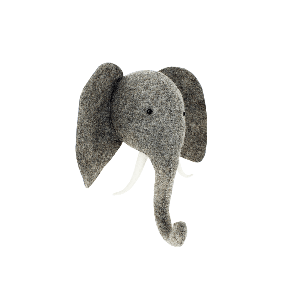 Elephant with Trunk Up Semi  - The Project Nursery Shop - 1