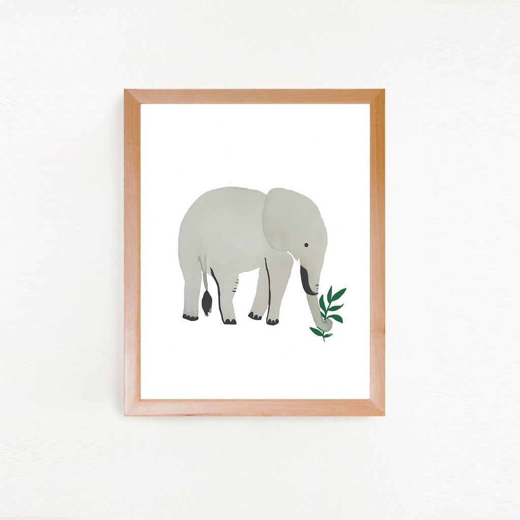 Elephant Art Print - Project Nursery