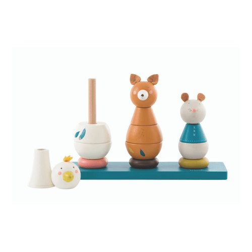 Animal Stacker Toy - Project Nursery