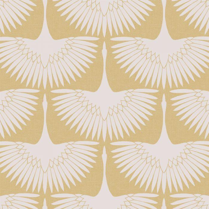 Feather Flock Wallpaper - Golden Hour - Project Nursery