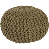 Knit Pouf Olive - The Project Nursery Shop - 7
