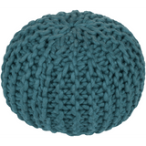 Knit Pouf Teal - The Project Nursery Shop - 2