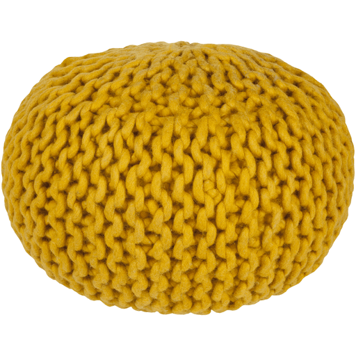 Knit Pouf Gold - The Project Nursery Shop - 4