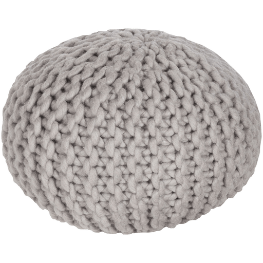 Knit Pouf Gray - The Project Nursery Shop - 3