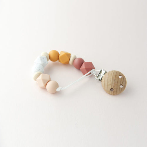 Mini Pacifier Holder - Bamboo Multi - Project Nursery