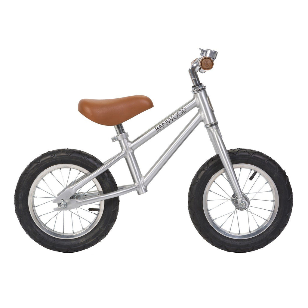 Banwood First Go Balance Bike - Chrome - Project Nursery