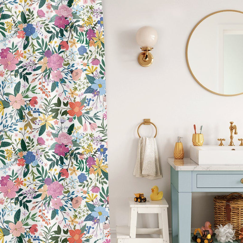 Botanical Blossoms Shower Curtain - Project Nursery