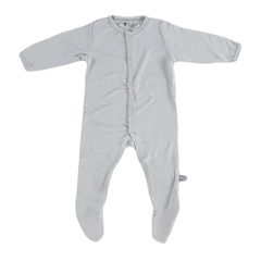 Bamboo Footie Overall - Storm - Project Nursery