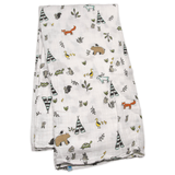 Forest Friends Swaddle  - The Project Nursery Shop - 2