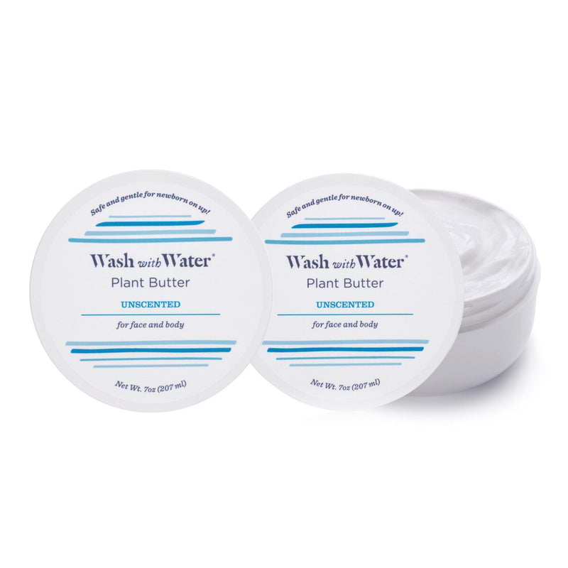 Wash with Water Fragrance Free Plant Body Butter Duo - Project Nursery