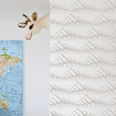 Giraffe Wallpaper - Project Nursery